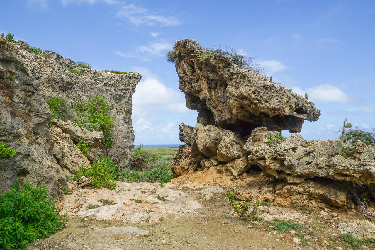 Rock Formation, Arikok National Park, Aruba
