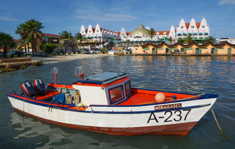 Boat in Basin, Oranjestad, Aruba