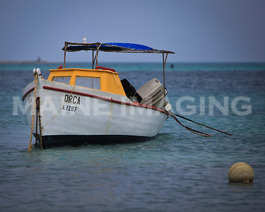 "The ""Orca"".  Another of Aruba's small fishing boats."