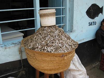 Tiny dried fish