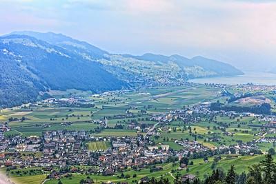 Heading up to Mt. Stanserhorn, Switzerland