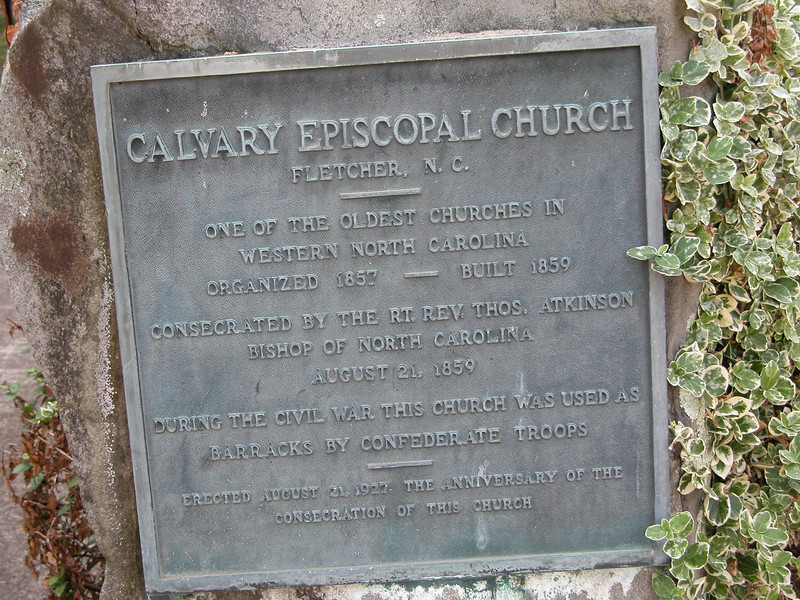 A bit of the history of the church.