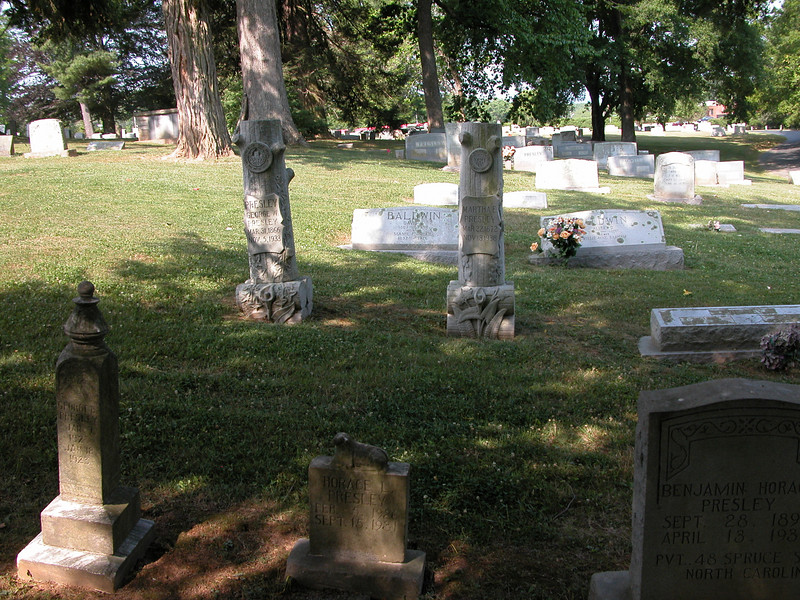 There are some marvelous old headstones, and some that really make you want to cry.