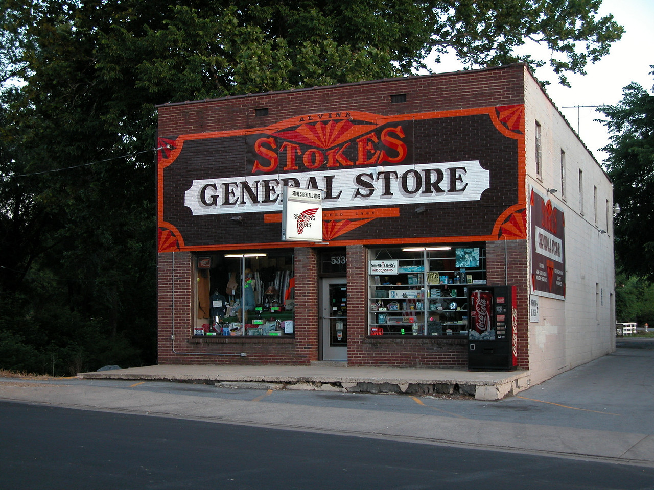 Another shot of Stokes General Store.  Sits right on the edge of a stream.