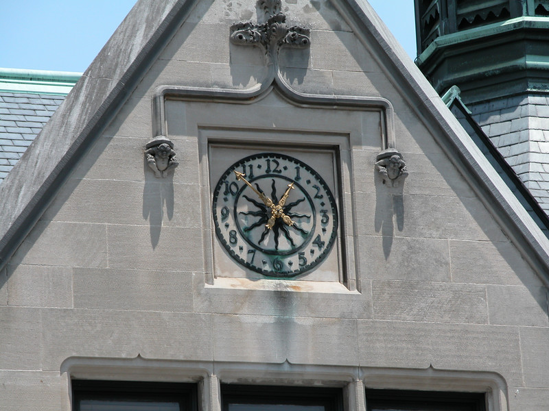 There are clocks and then there are Biltmore clocks.