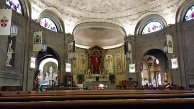 Altar at the Basilica