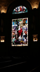 Basilica Stained Glass