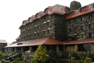 Main lodge at the Grove Park Inn
