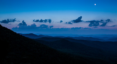 Blue Ridge Supermoon