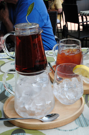 Iced tea, Posana Cafe, Asheville