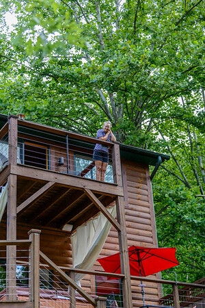 Cabin on French Broad with Betty Jo
