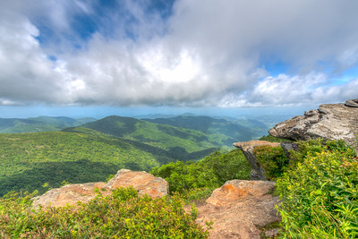 Craggy Gardens Pinnacle Trail, Asheville NC
