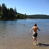 Sam joining Harry and Charlie at Hyatt Lake.