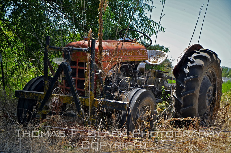 This through frame 157, Ford tractor.