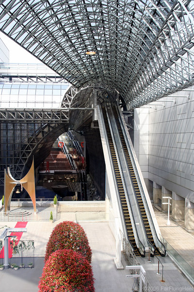 Kyoto Station, April 2006