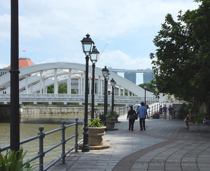 Singapore river walk