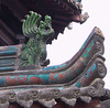 Roof detail, Great Mosque, Xi'an