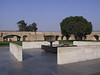 Raj Ghat, where Gandhi was cremated