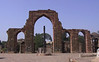 Qutub Minar, with the iron pillar that has withstood corrosion for over 1600 years