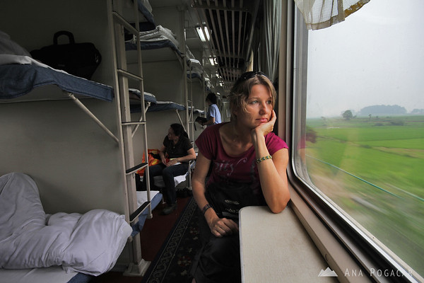 On a Guilin-Kunming train