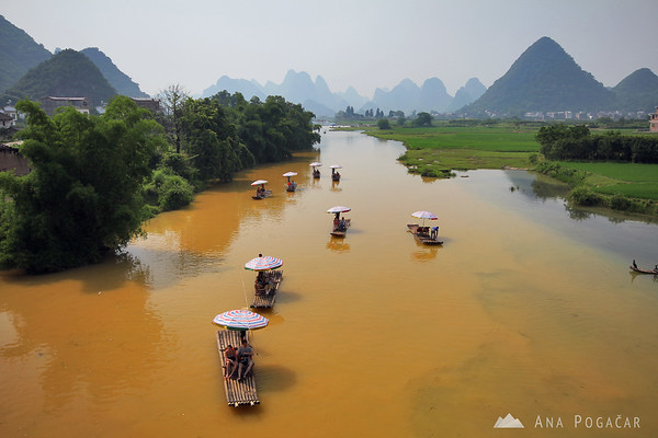 Yulong river cruise