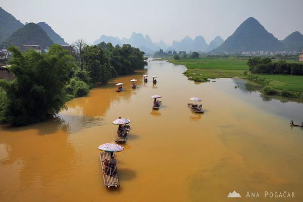 Yulong river cruise