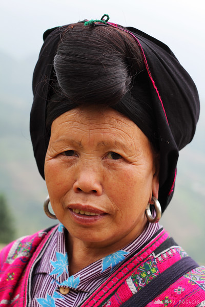 Woman from a local tribe in Tian Tou