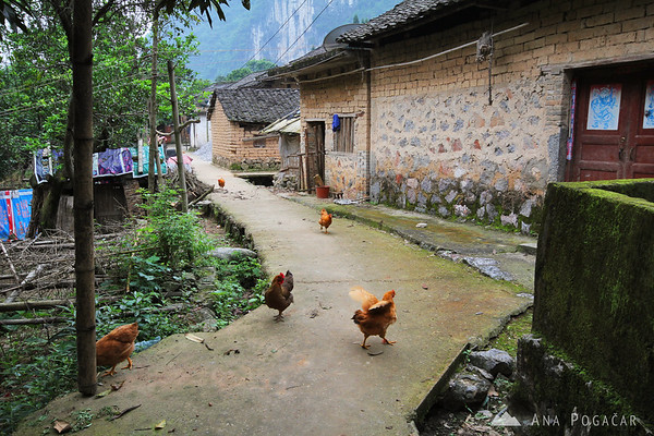 Deserted village near Yangshuo