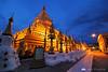 Shwezigon Pagoda in the blue hour
