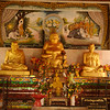 Various monks and Buddha
