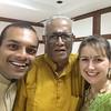 Raj, Thatha and Carlene