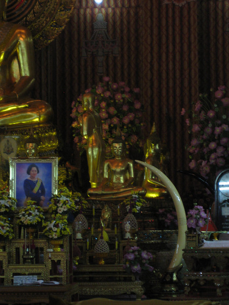 Buddhist Temple in central Bangkok