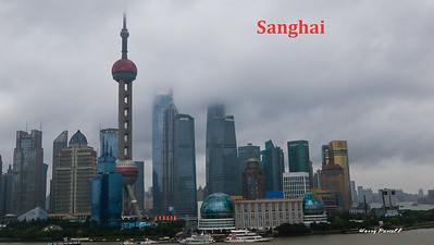 The Kowloon side of Shanghai, it rained for 3 days