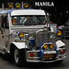 the iconic vehicle for getting around in Manila. A Jeepster.
