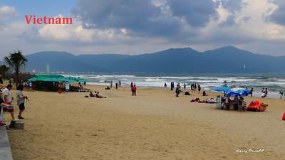 the beaches of Da Nang, Vietnam