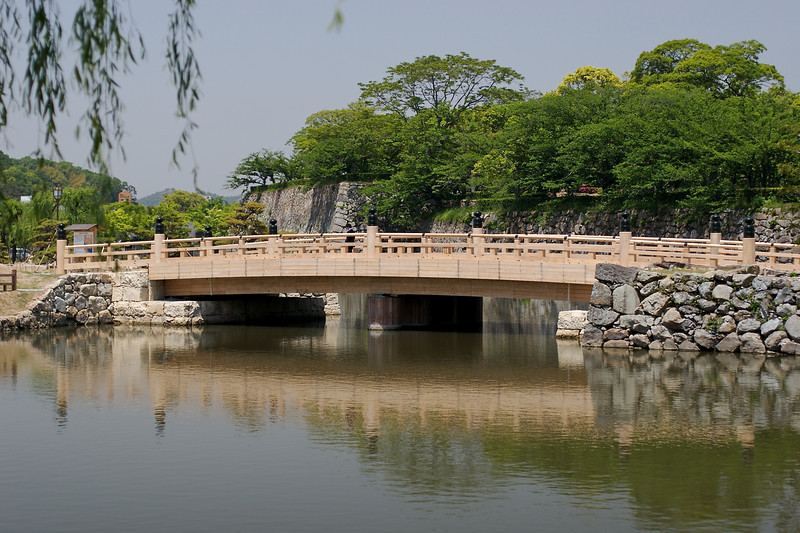 Bridge to the castle.