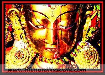 Photographed at the World Buddist Federation Meeting in Kathmandu, Nepal.