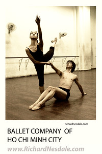 Working with the Ballet Company of Ho chi Minh City, Viet Nam.