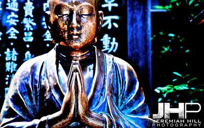 """Asakusa Buddha #1"", Tokyo, Japan, 2010 Print JAP16-935"