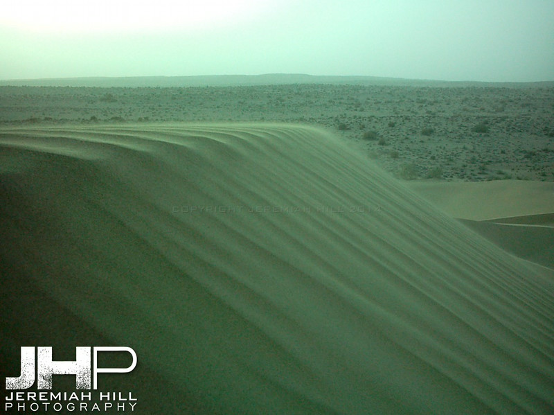 """This Is The Way The Wind Speaks"", Thar Desert, Rajasthan, India, 2005 Print INDIA9B-65V6"