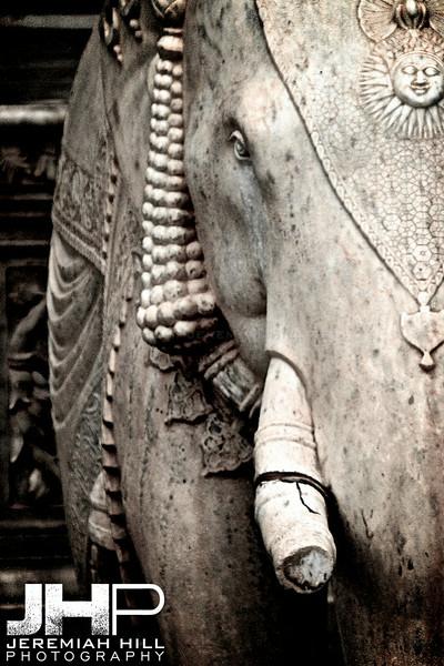 """Stone Elephant"", Jaipur, Rajasthan, India, 2007 Print IND3917-101"
