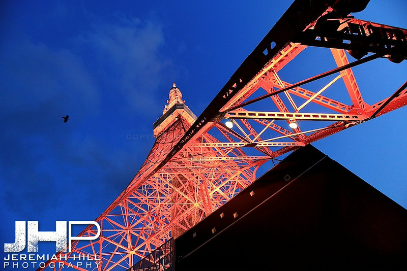 """Tokyo Tower #2"", Tokyo, Japan, 2010 Print JAP16-2482"