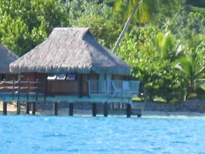 View of our room from boat