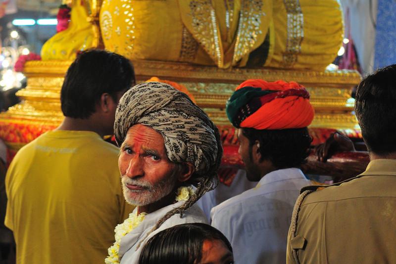 Holy Procession,<br /> Pushkar, India