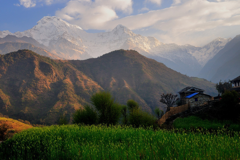 Annapurna Range, <br /> Nepal