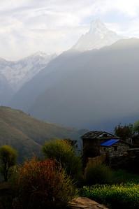 Macchapucchre (Fishtail Mountain),  Nepal