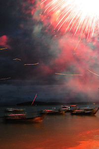 Loy Kratong Festival,  Ao Nang, Thailand