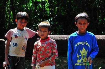 Children Begging, Ankor Wat, Cambodia