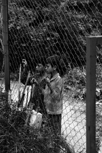 Children Begging Outside The Killing Fields,  Outside Phnom Penh, Cambodia