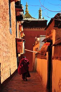 Buddhist Monk,  Tibet